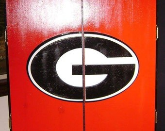 Georgia Dart Board Cabinet