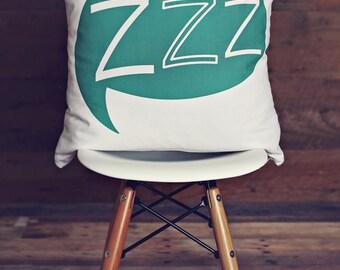 ZZZ Pillow