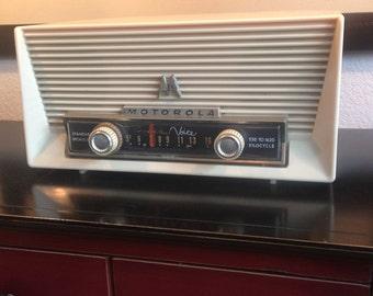 Vintage Motorola Golden Voice Radio Circa 1950's