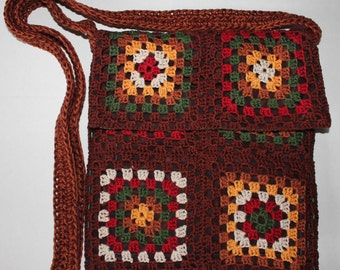 Crochet Purse with lining
