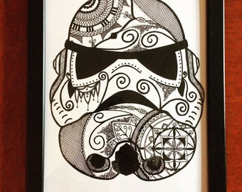 A4 Angry Stormtrooper print