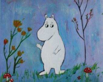 Moomin painting