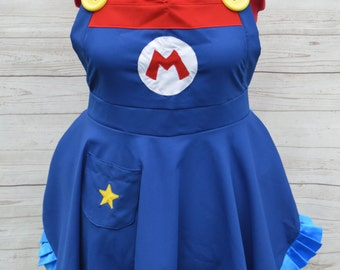 Super Mario Full Apron