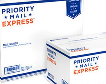 Express Domestic shipping 2  business days