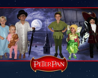 Peter Pan SZ 5-10  Costume for Kids, available in Kid's