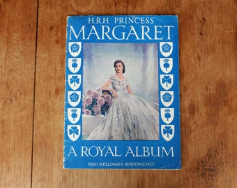 Her Royal Highness Princess Margaret. A royal album. With portraits - 1950's