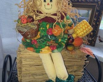 Vintage harvest* scarecrow kid