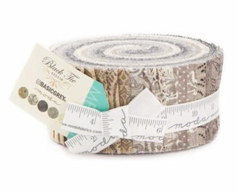 In Stock Now: Black Tie Affair - Jelly Roll by Basicgrey for Moda