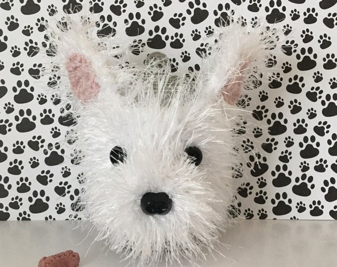 Featured listing image: Westie Dog -  Westies - Dog Treat Jar - Westie Puppies - Dog Treat Jar - Westie Terrier - Gifts For Dog People - Fur Mama - Pedigree Dog