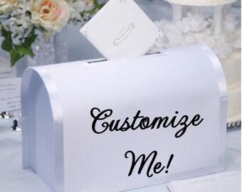 Wedding Card Mailbox, Wedding Box, Card Box, Wedding Decor, Customized Wedding Card Box, Wedding Gift, Wedding Decoration, Reception Decor