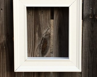 Picture Frame Shadow Box (8x10)