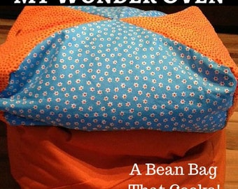 My Wonder Oven - A Bean Bag that Cooks!  FREE Shipping