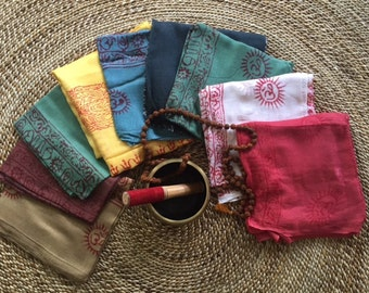 Deity Meditation Scarves