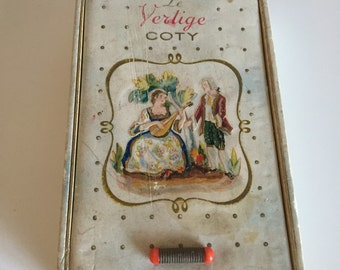Rare Coty Le Vertige Box, Coty Perfume Box, Coty Le Vertige Perfume, Vintage Perfume Box, Vintage Perfume