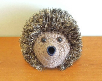 Small Hedgehog Knitting Pattern : Tea pot centerpiece Etsy