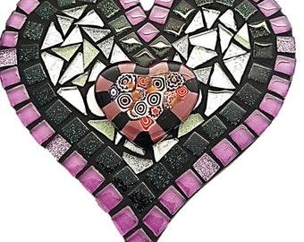 Mosaic Heart Kitset - Small - Dreamy Purple