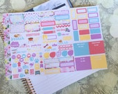 Boho Beach Personal Foldout! One tri-folded sheet, for your personal ring bound planner, Kikki K, Filofax, Kate Spade and Color Crush