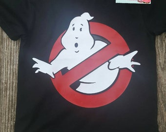Ghostbuster boy shirt - ghostbuster boy birthday - ghostbuster birthday - Halloween shirt - ghost shirt - ghostbuster shirt - ghostbuster