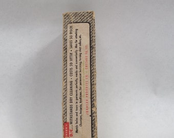 """60's unused Johnson Products """"Fabric Mender"""", for the collector of sewing ephemera"""