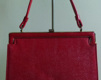 Vintage Red Handbag.