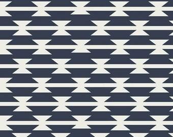 Crib Sheet or Changing Pad Cover | Baby Boy Bedding | Tribal Crib Sheet | Navy Crib Bedding | Tomahawk | Tribal Nursery | Standard or Mini