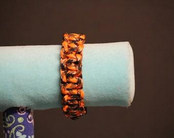 Halloween Zigzag Paracord Bracelet