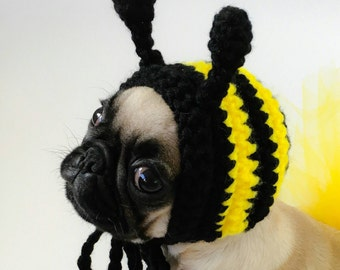Bee Pet Hat - Made to Order