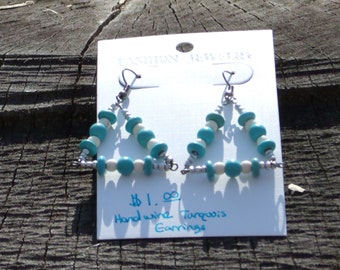 Triangle Turquois Earrings