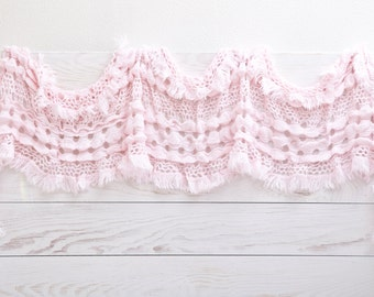 Crochet cover up, Lace Scarf, Summer Outdoors, Pink Fashion Scarf, valentines gift, Womens Accessories Summer party Gift Ideas For Her (001)
