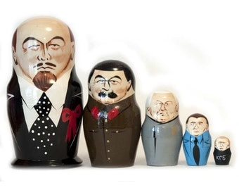 Nesting dolls Lenin and other Russian policies - kod37a