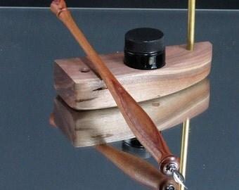 Handmade Wood Calligraphy Pen Straight Nib By