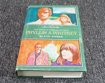 Blue Fire And Black Amber 2 Novels By Phyllis A. Whitney 1964