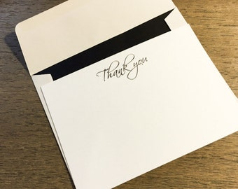 Thank you Cards- 3.5 x 5 Flat Cards