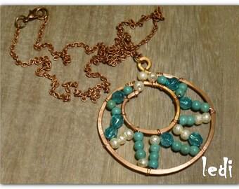 blue light necklace