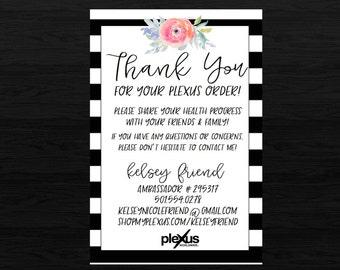 Plexus BW2 Thank You Card DIGITAL FILE
