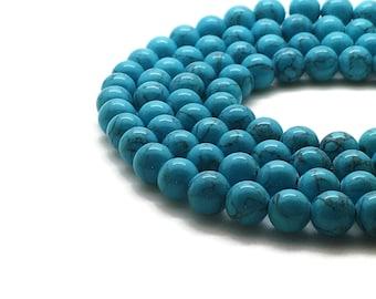8mm Mashan Jade Beads Turquoise Round 8mm Mashan Jade 8mm Blue Jade Jade 8mm Blue Beads Candy Jade 8mm Blue Beads 8mm Mountain Jade