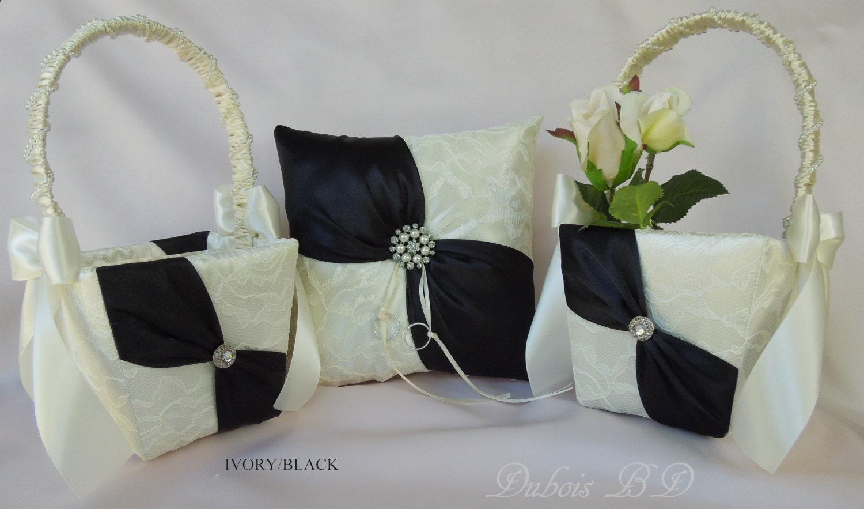 Flower girl baskets ring bearer pillow sets light blue wedding flower girl baskets ring bearer pillow sets wedding ring bearer pillow and flower girl basket izmirmasajfo