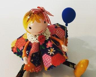 Little wooden dolly cake topper (PG10)