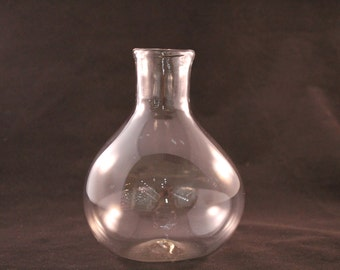 Hand Blown Glass Decanter or Vase