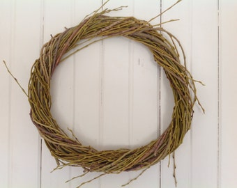 Large Willow branch wreath Dreamcatchers Nature wreaths Willow hoops Woodland wreaths Worship hoops Wreaths Dried leaves Dried flowers