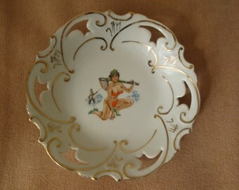 60s Collectible Vintage Plate made in bavaria
