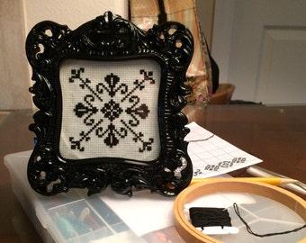 Framed Blackwork