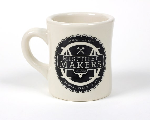 Mischief Makers Ceramic Coffee Mug Cool Designs