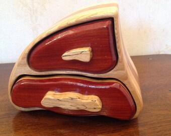 Individually Designed Left Trinket-Keepsake Box