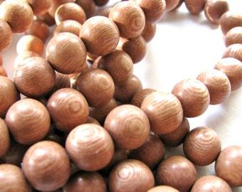Rosewood beads, full strand , 35 beads,12mm - #134