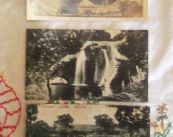Vintage Turner Falls Davis, Oklahoma Postcards Vintage Oklahoma Postcards