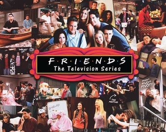 Friends Collage Poster