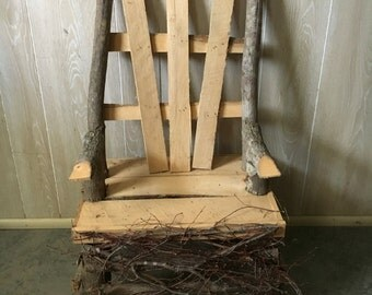 Small decorative chair