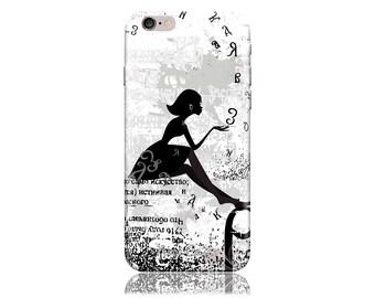 Clearance! For Samsung Galaxy S6 Case #Dandelion Girl Cool Design Hard Phone Case