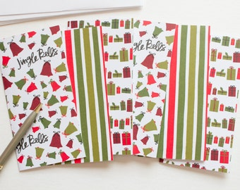 Christmas note cards, Christmas stationery, Christmas thank you cards, stationary cards, stationery set, blank note cards, note card set